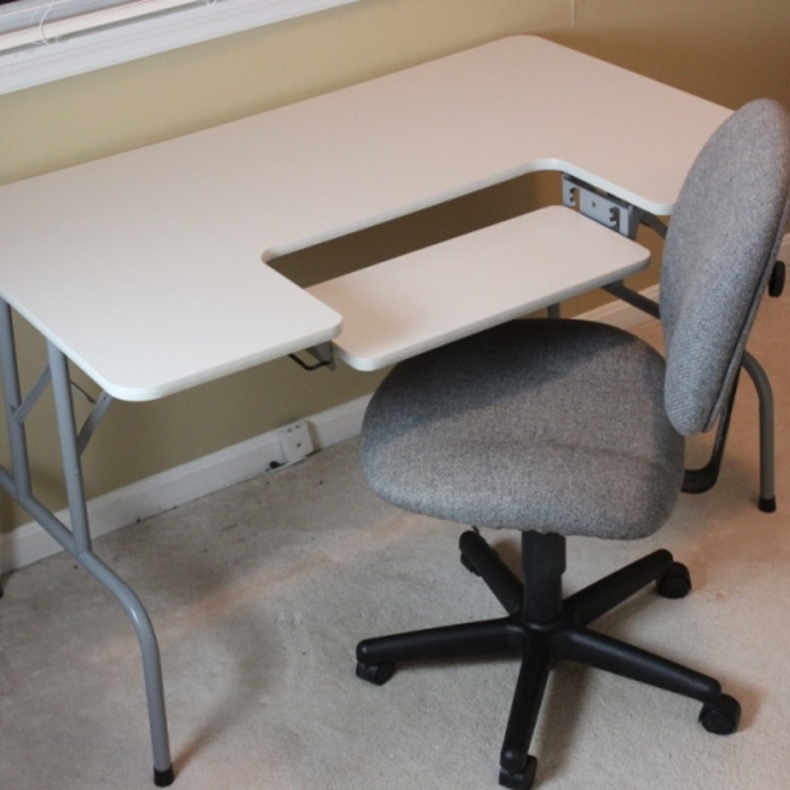 Portable Office Desk And Chair