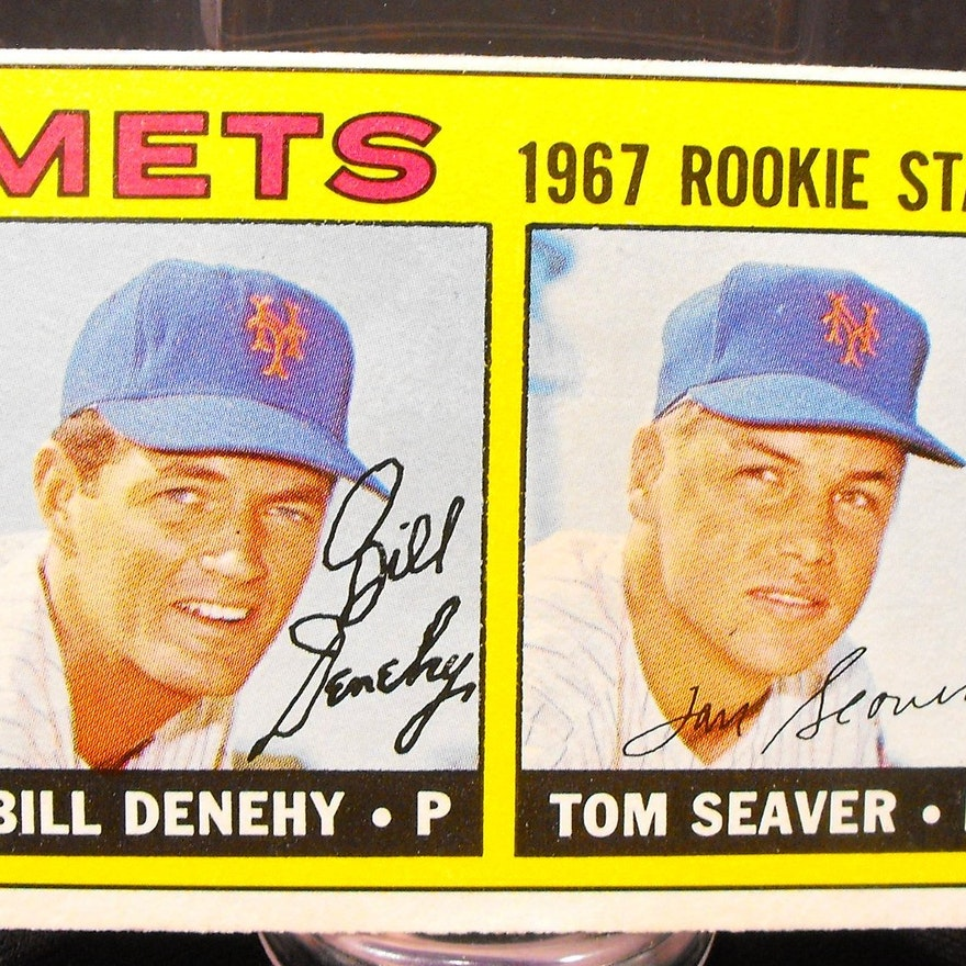 1967 Tom Seaver Topps 581 Rookie Baseball Card