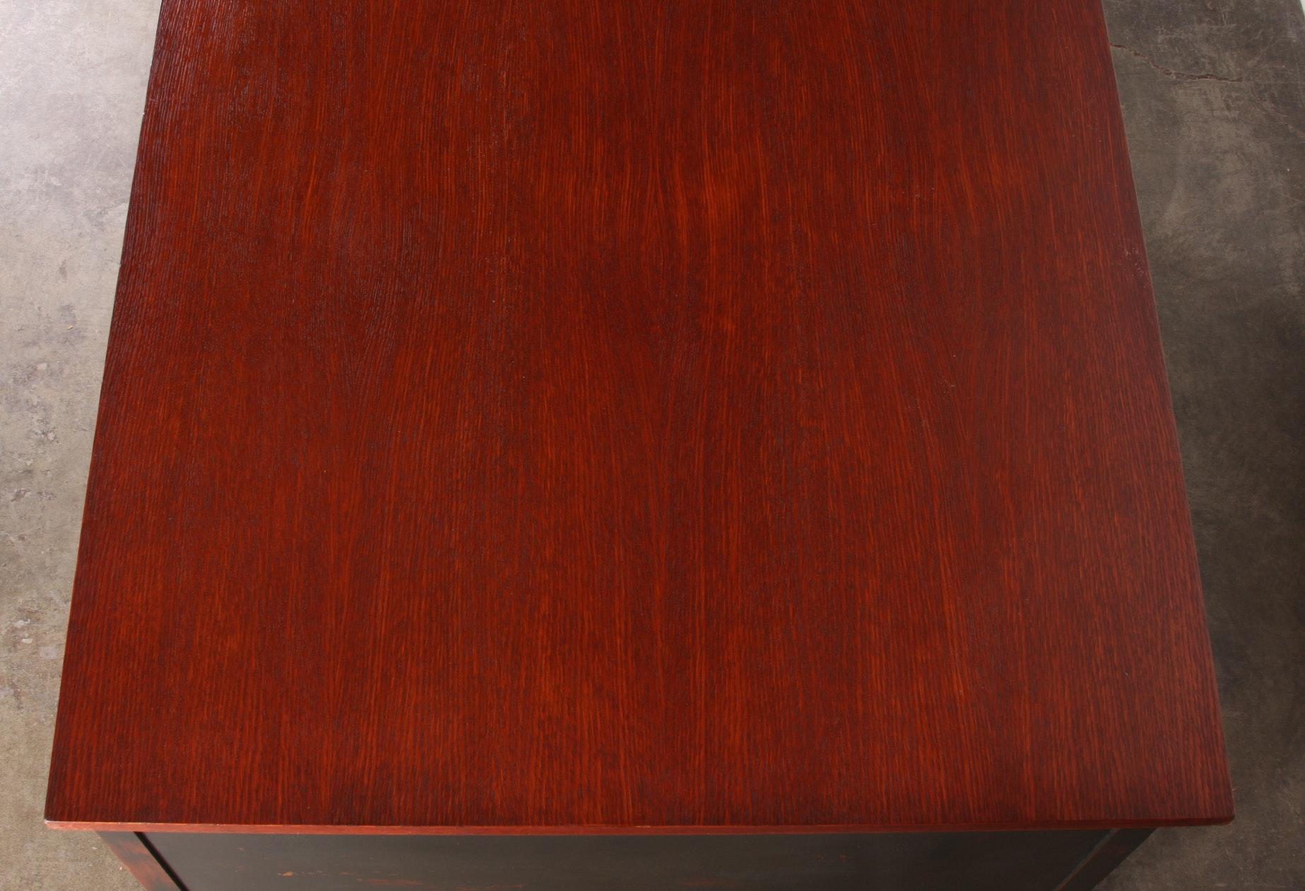 1930 S Oak Partners Desk Indiana Desk Company Ebth