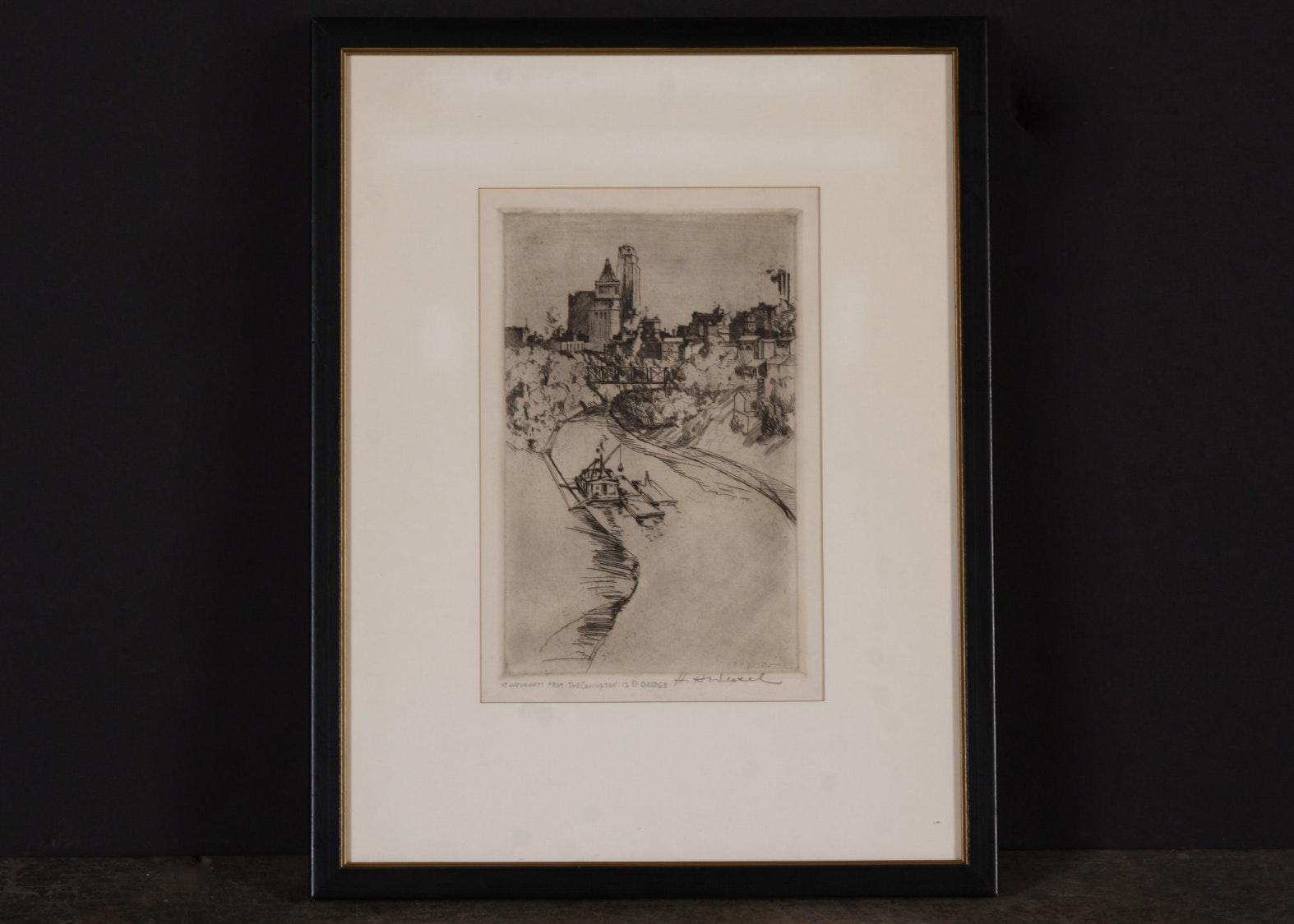 Original H.H. Wessel Etching