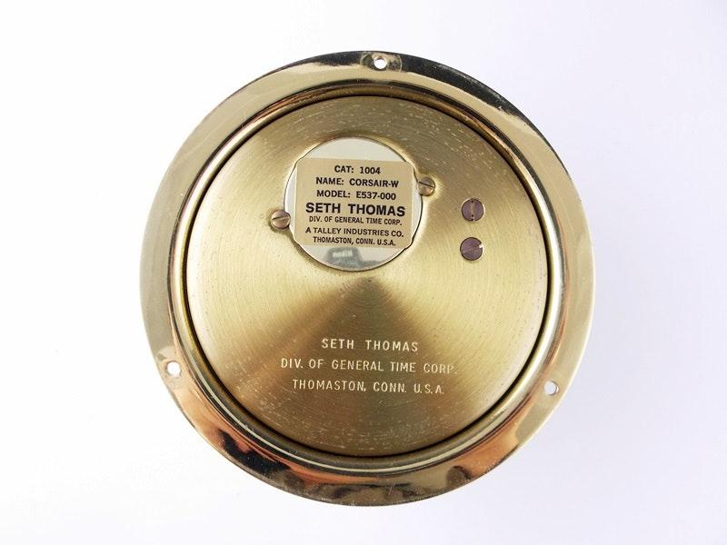seth thomas clock instructions