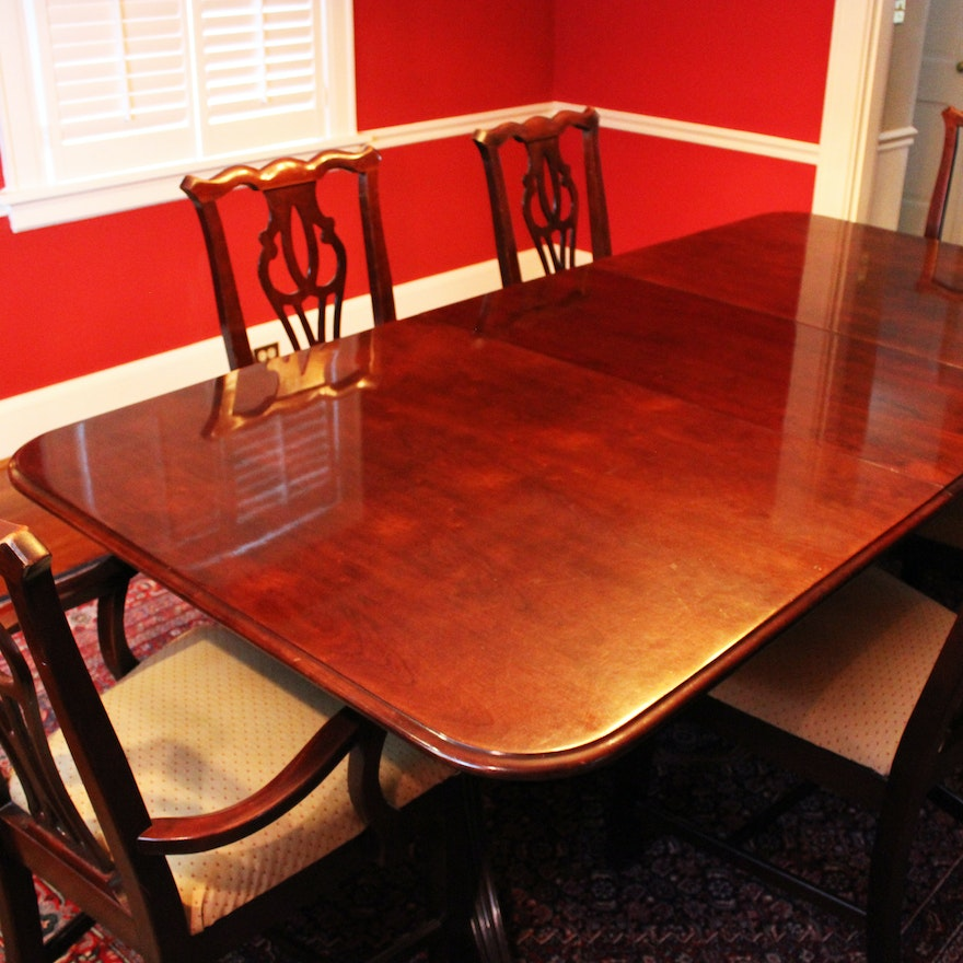 Thomasville Cherry Formal Dining Room Set Cherry Tables ...