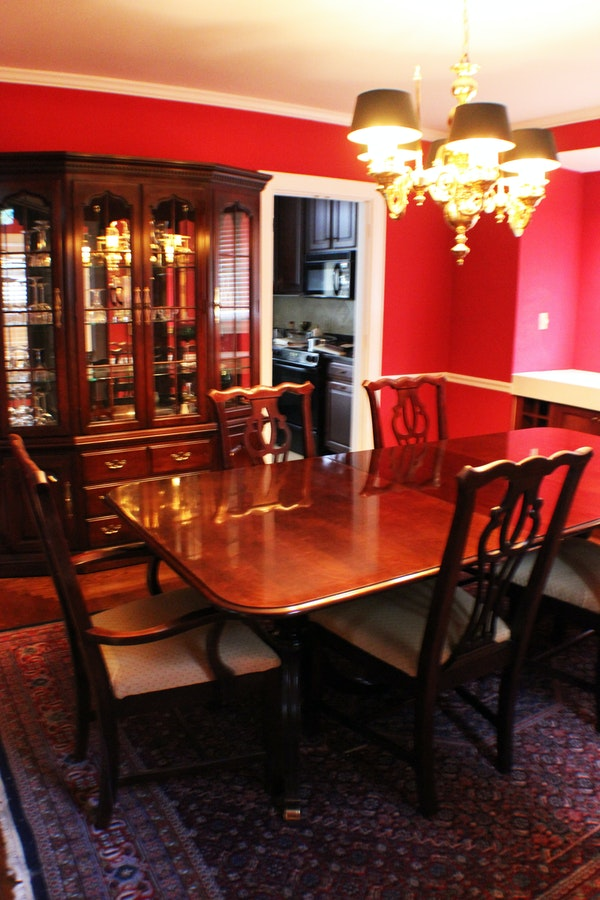 Thomasville Cherry Formal Dining Room Set Cherry Tables