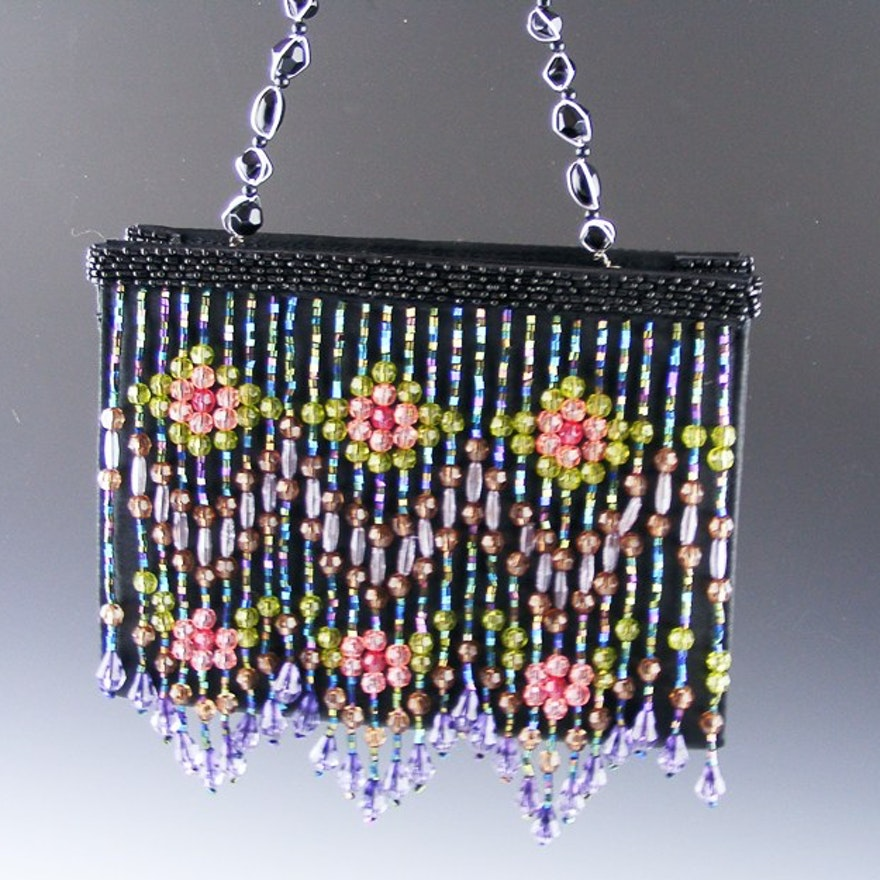 Designer Moo Roo Handbag Signed