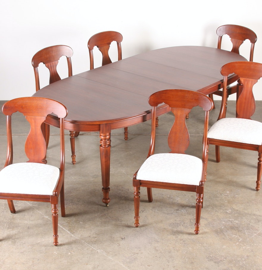 Lexington Dining Room Furniture: Lexington Vestiges Dining Table & Chairs : EBTH