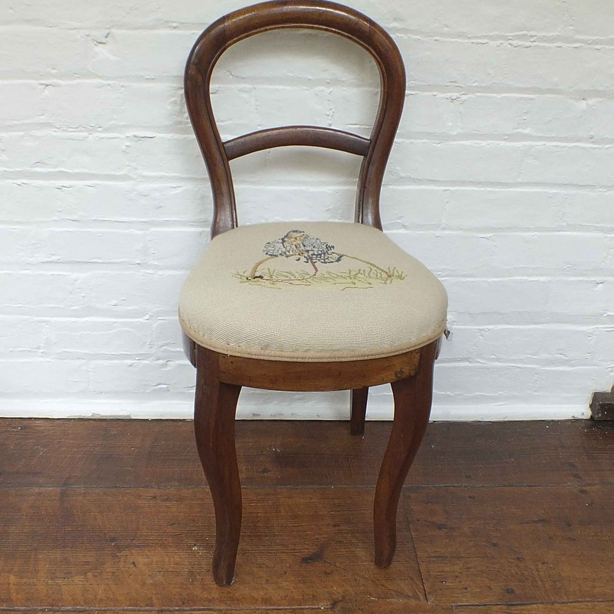 Antique Petite Sewing Chair ... - Antique Petite Sewing Chair : EBTH