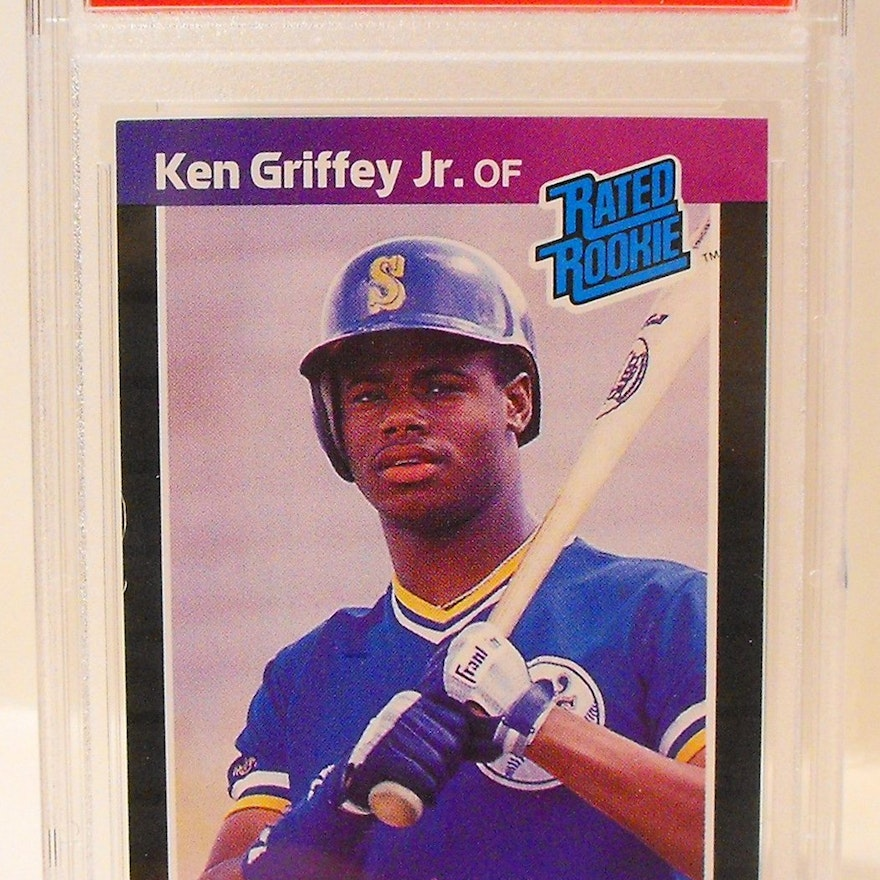 Ken Griffey Jr Graded Rookie Card