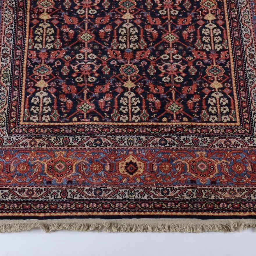 "Persian Hand Woven Bakhtiari Style Wool Area Rug Ebth: Karastan Williambsburg Collection Wool ""Carter's Grove"