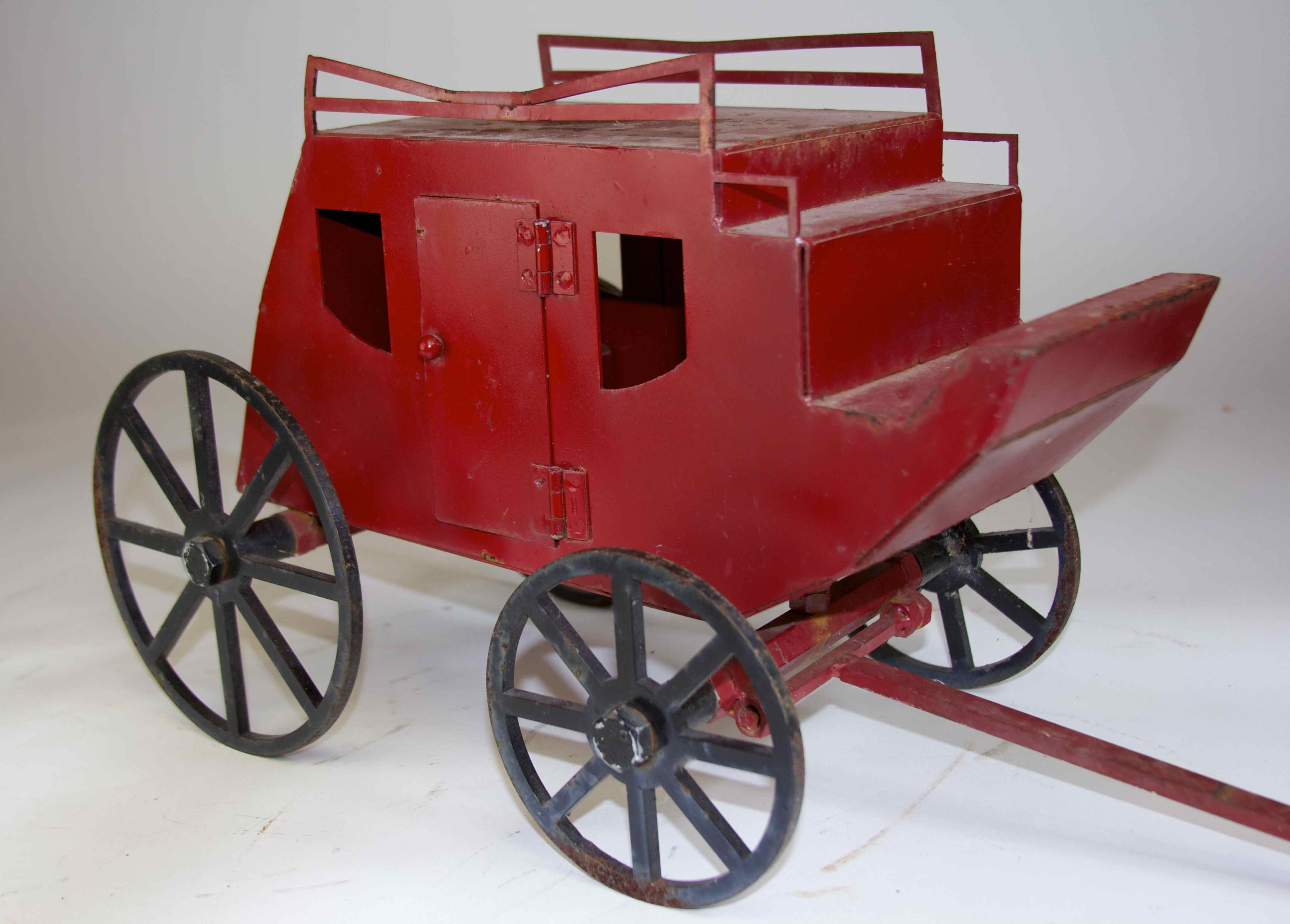 HAND-CRAFTED STAGECOACH