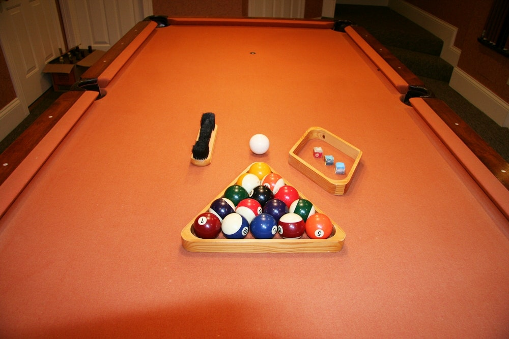 Peter Vitalie Pool Table ...