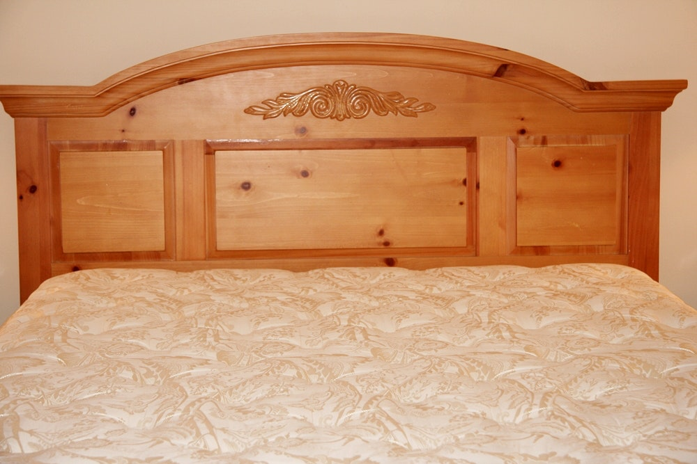 Queen Bed With Mattress And Headboard