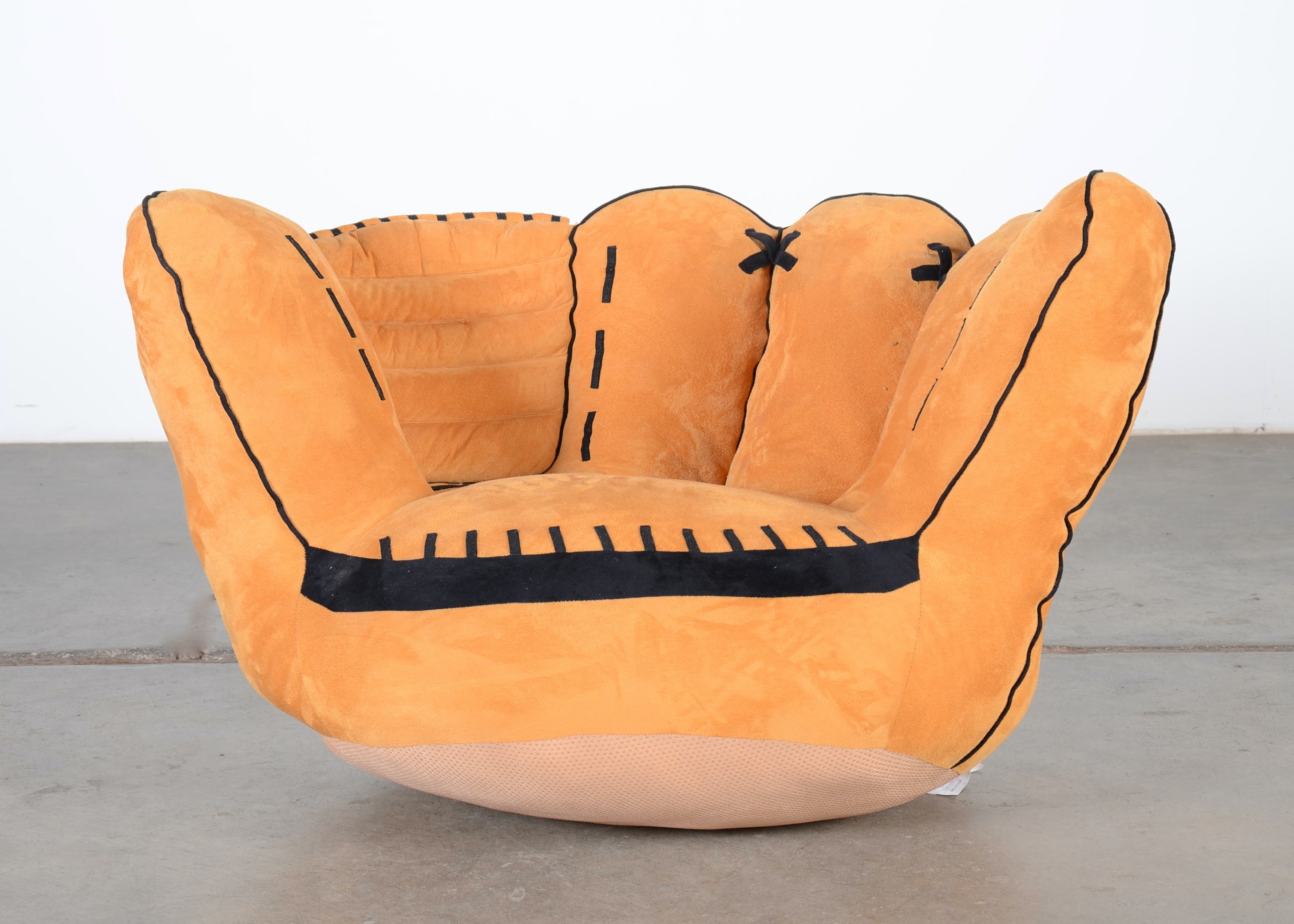 Childu0027s Stuffed Catcheru0027s Mitt Chair ...