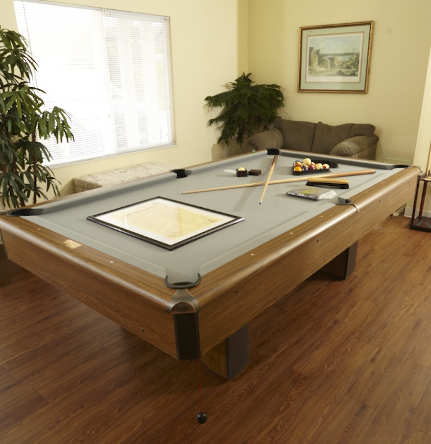 Playmaster Renaissance Pool Table Ebth