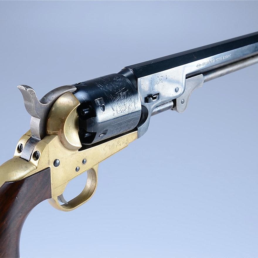 F LLI Pietta made in Italy,  44 CaL Black Powder Percussion Revolver