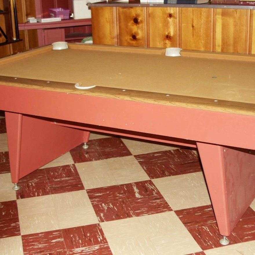 Sears Championship Pool Table EBTH - Sears billiard table sale