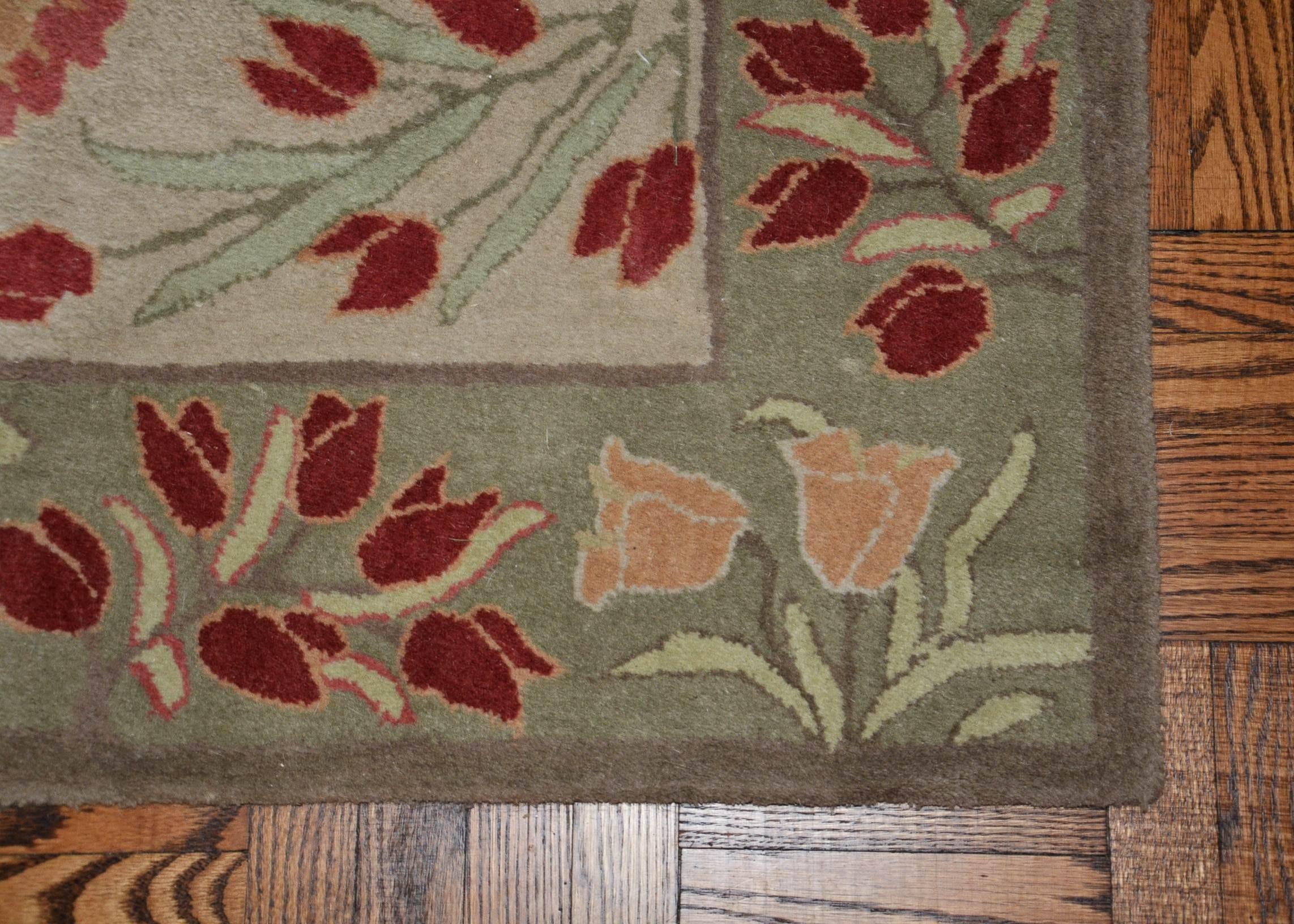pottery barn adeline wool area rug ebth