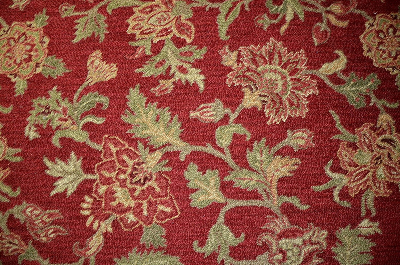 Pottery Barn Palampore Wool Room Rug Ebth