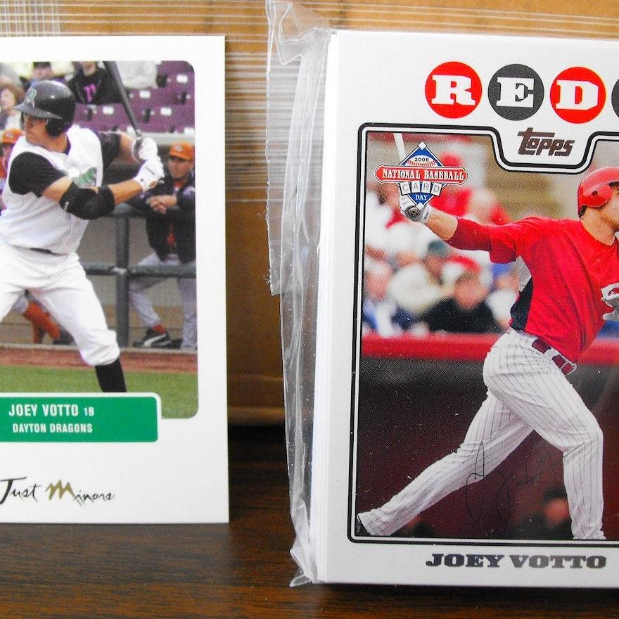 380 Joey Votto Draftrookie Cincinnati Reds Baseball Cards