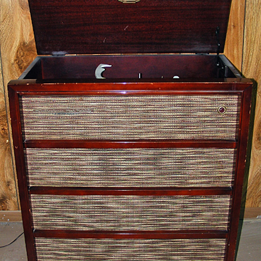 RCA Victor Turntable Stereo Cabinet