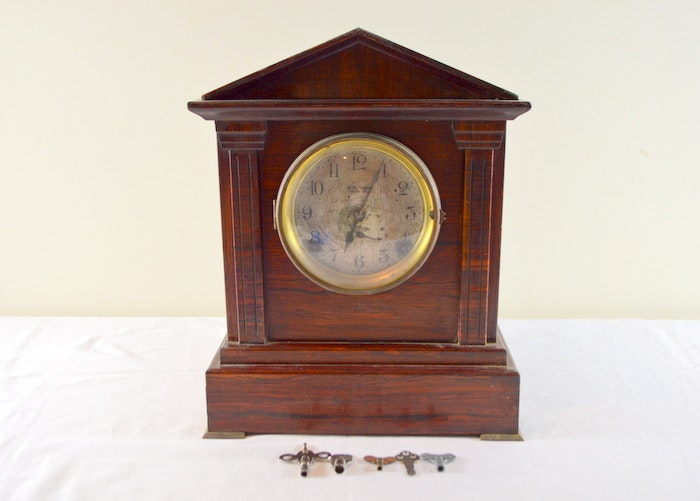 Seth Thomas #5 Sonora Chime Adamantine Mantel Clock