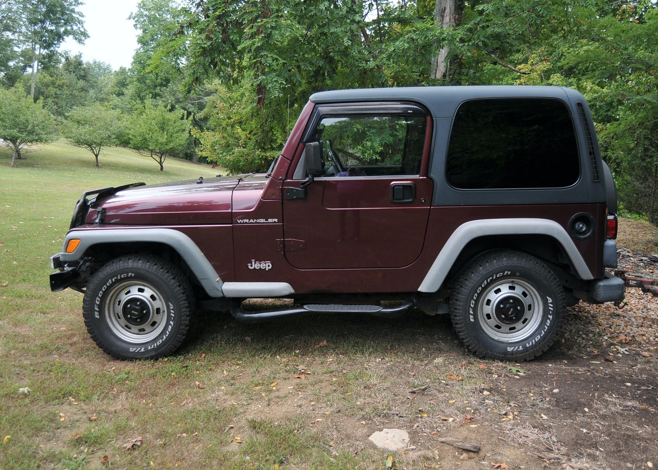 2002 Jeep Wrangler 4x4