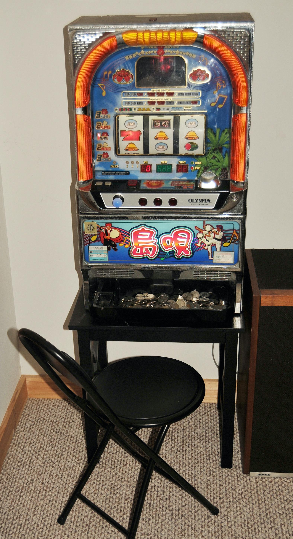 Olympia slot machine tokens