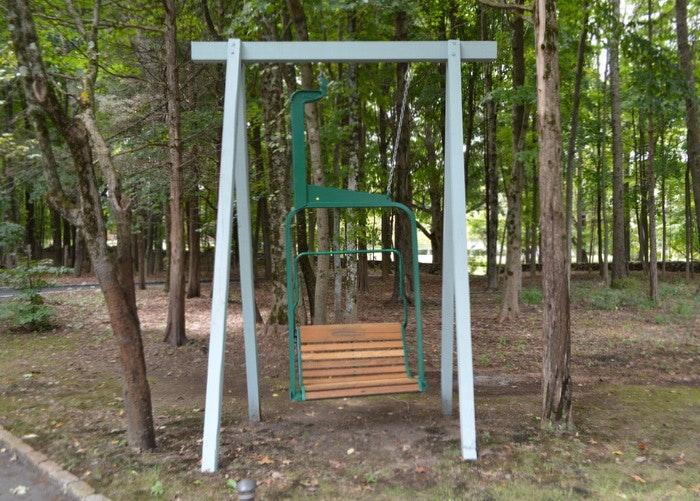 "Original Ski Mountain Chair Lift ""Swing"""