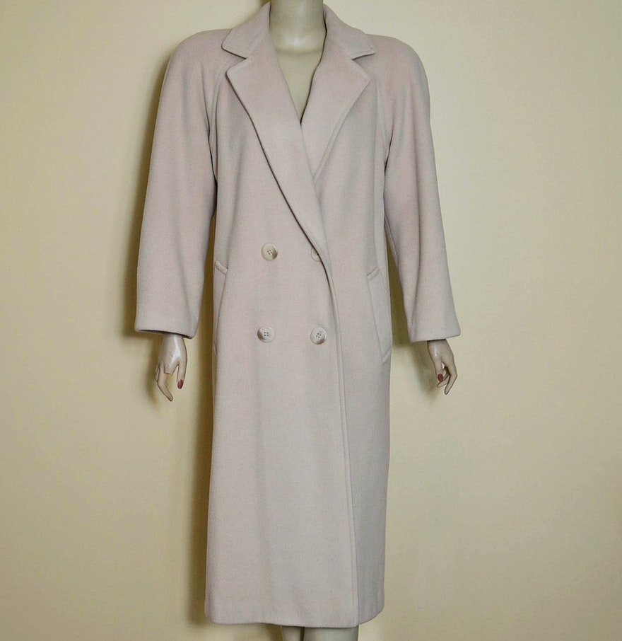 Marshall Field&39s Regency Cashmere Coat : EBTH