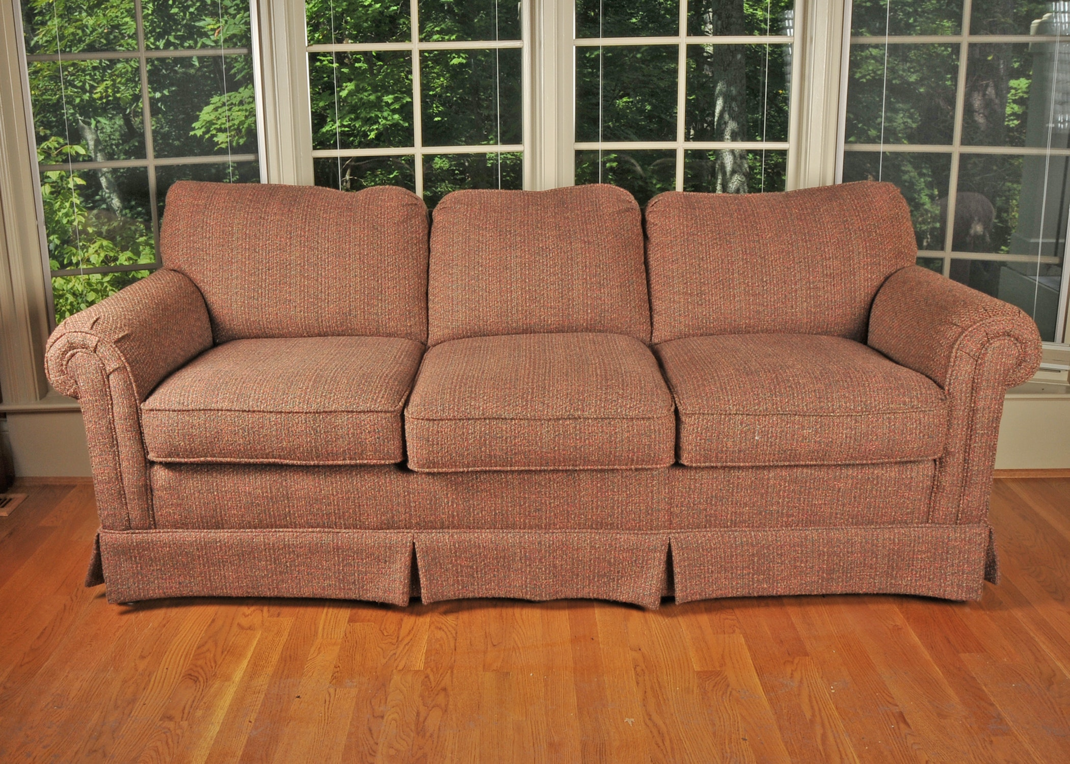 Taylor King Sofa With Rolled Arms ...