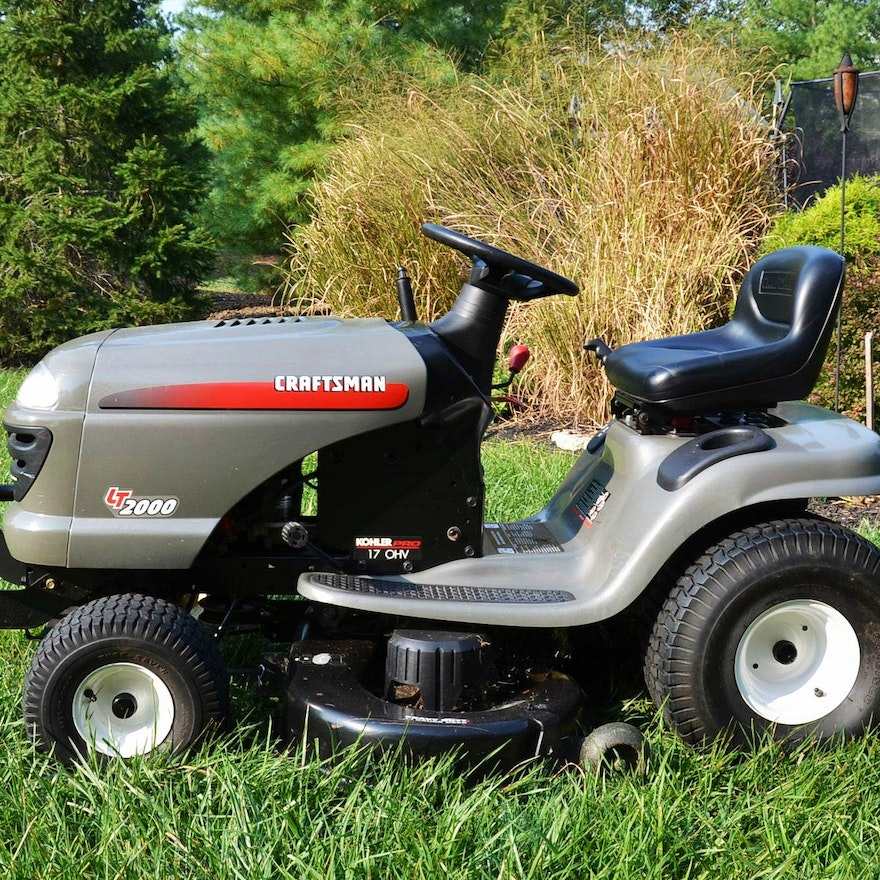 Craftsman Model 917 Push Mower : Craftsman lawn tractor model  ebth