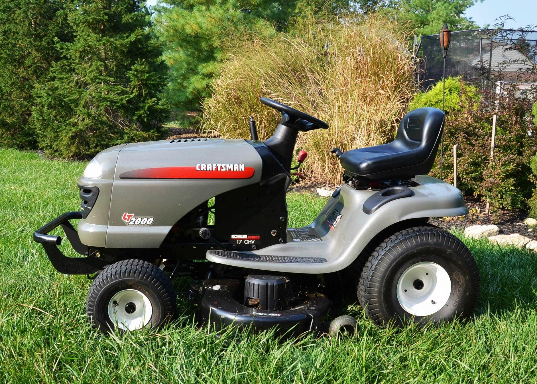 craftsman lawn tractor  model 917 273140   ebth