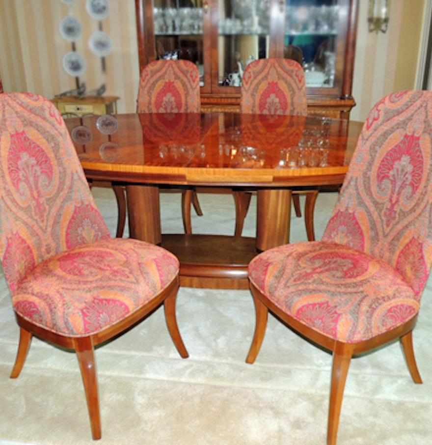 Henredon Dining Room Furniture: Barry Avery For Henredon Biedermeier Style Dining Room