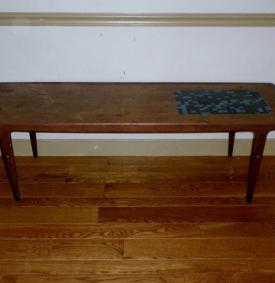 Mid-Century Modern Mosaic Coffee Table. : EBTH