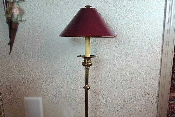 in floor lighting fixtures. Polished Brass Floor Lamp In Floor Lighting Fixtures