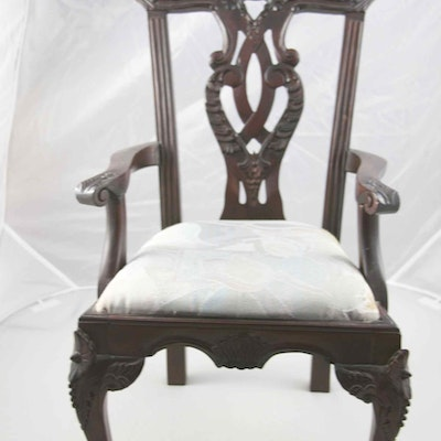 Chippendale Doll Chair - Antique Doll Auctions Vintage Dolls For Sale In Lexington