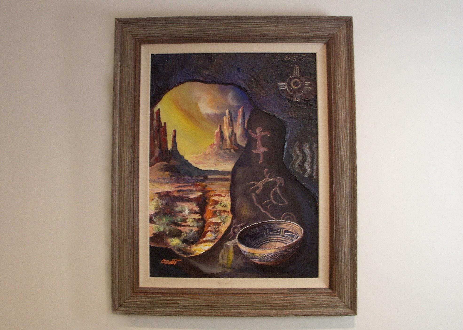 Garnet L. Myers Acrylic on Canvas
