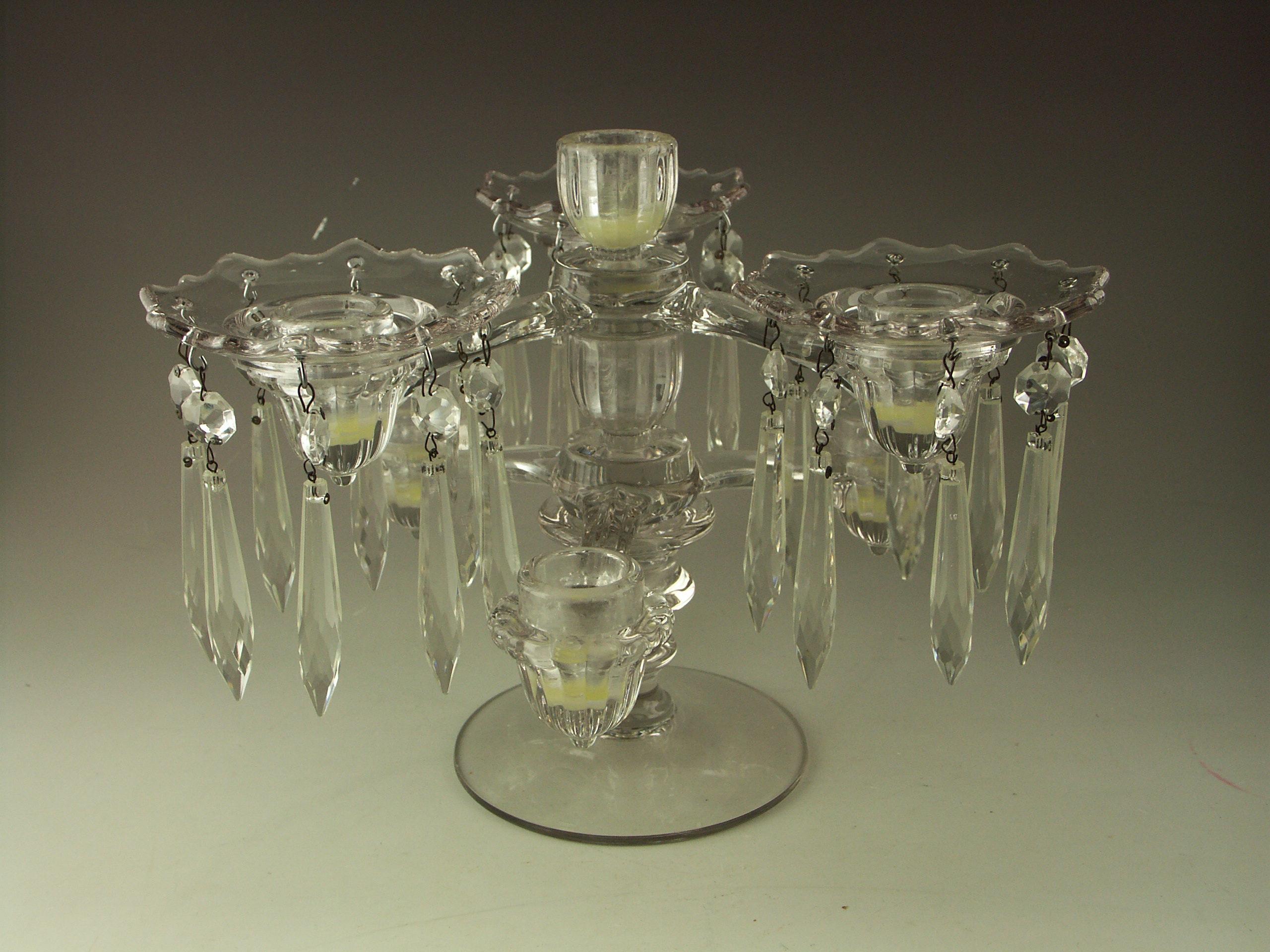Cambridge Glass Candelabra
