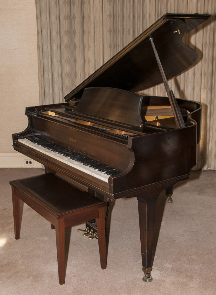Howard Baby Grand Piano Circa 1930 S Built By Baldwin Ebth