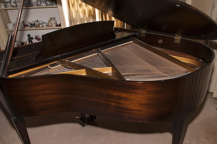 Howard Baby Grand Piano Circa 1930 S Built By Baldwin Ebth