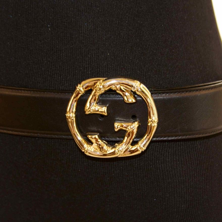 5c18dbc351a Genuine Gucci Belt   EBTH