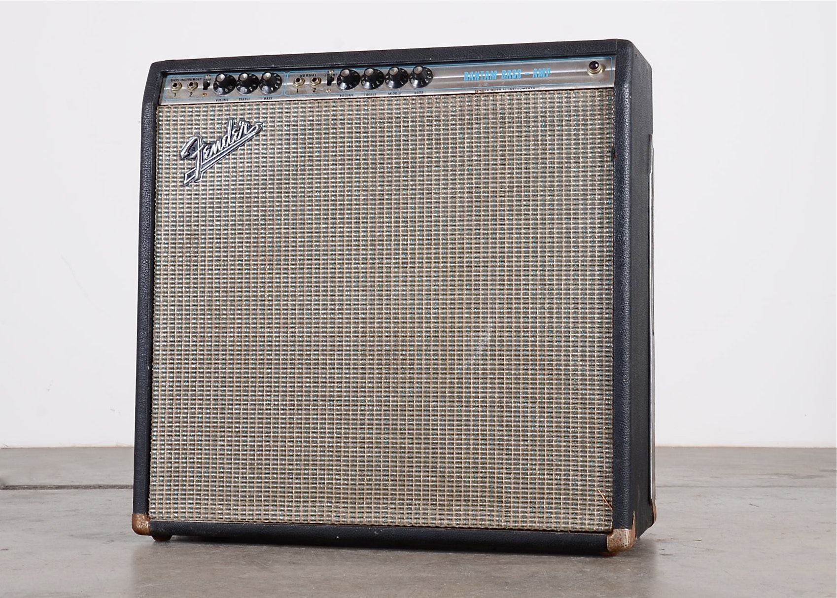 Fender Bantam Bass Amp Schematic Smart Wiring Diagrams Diagram 1969 Ebth Rh Com Chassis Amps Piggyback