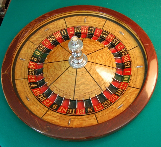 George Mason Company Victorian Style Roulette Table