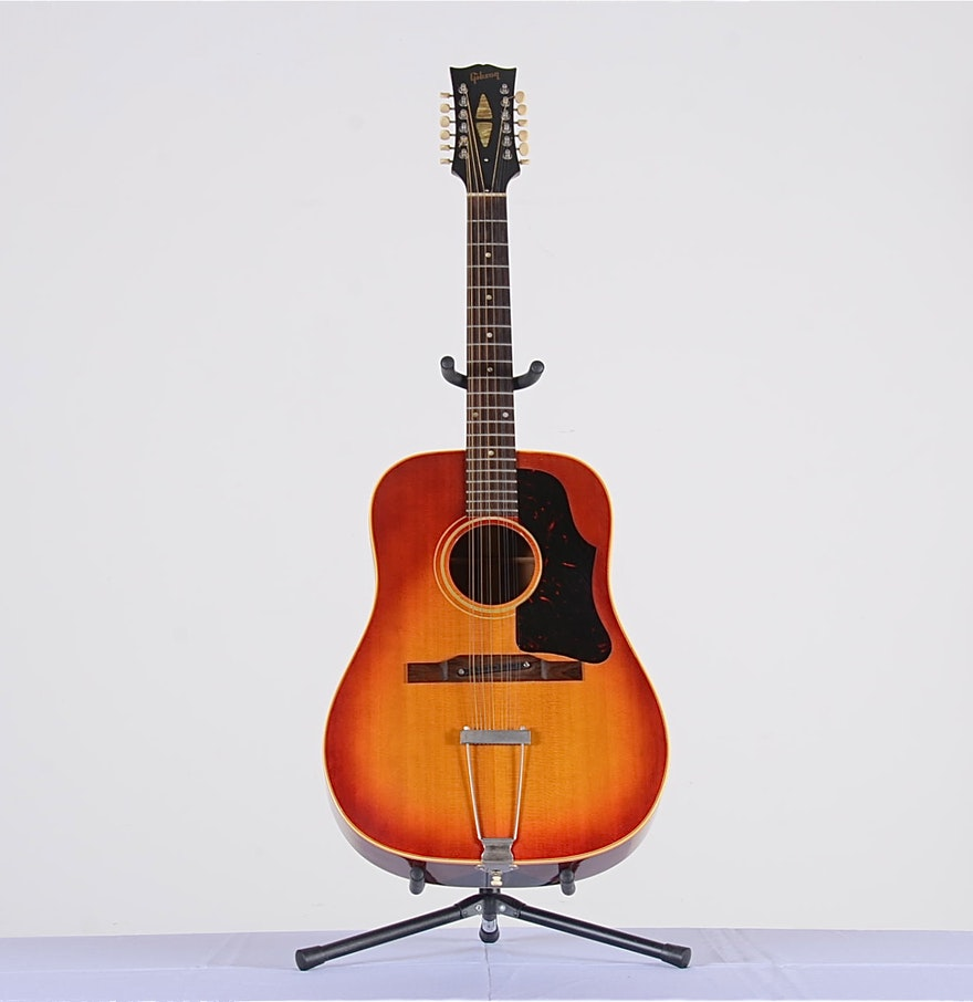 gibson b45 12 string acoustic guitar ebth. Black Bedroom Furniture Sets. Home Design Ideas