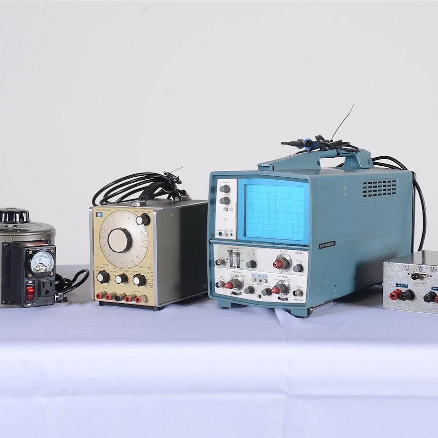 Vintage Electrical Audio Testing Equipment