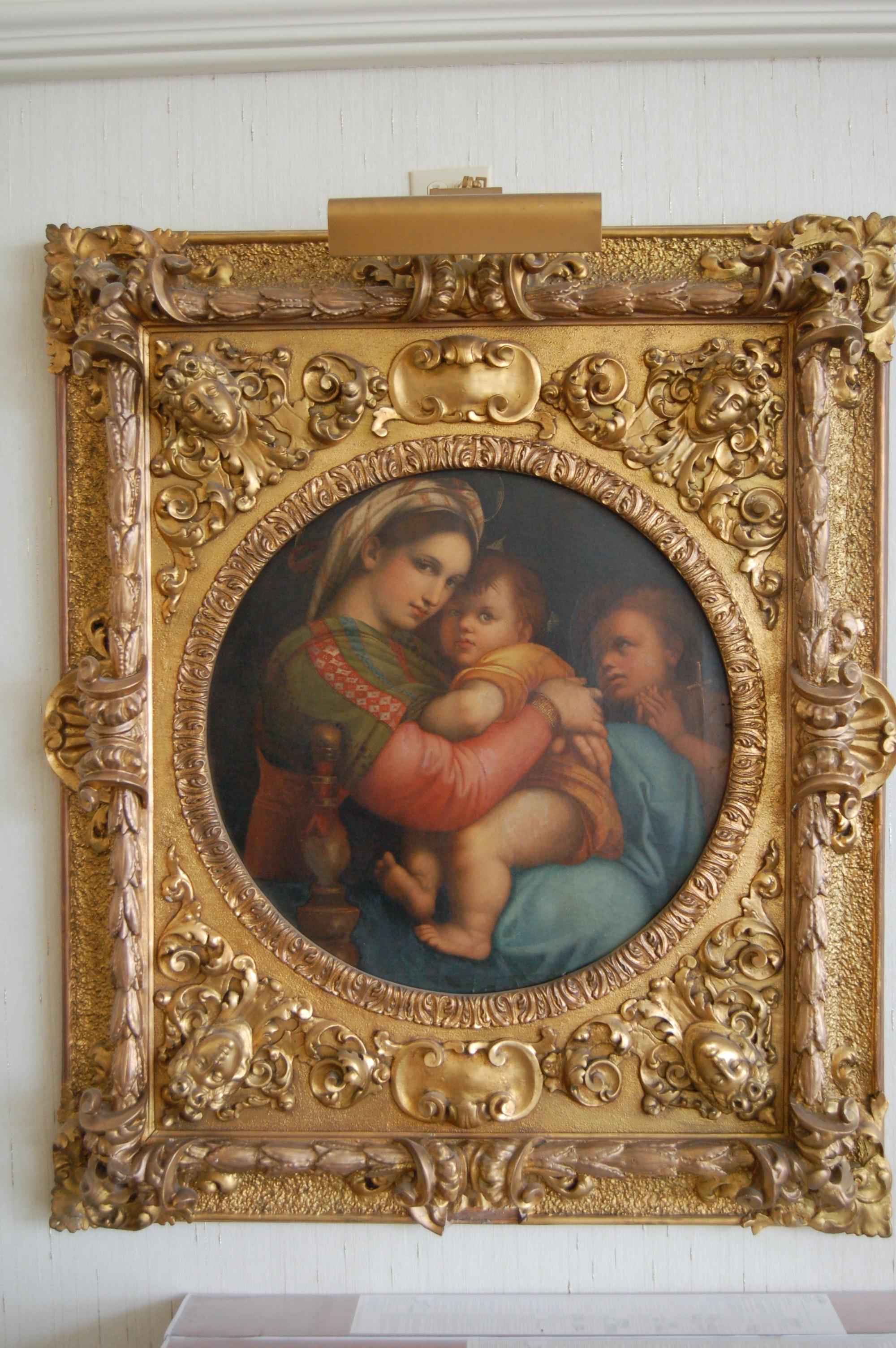 """After Raphael """"La Madonna Della Seggiola"""""""