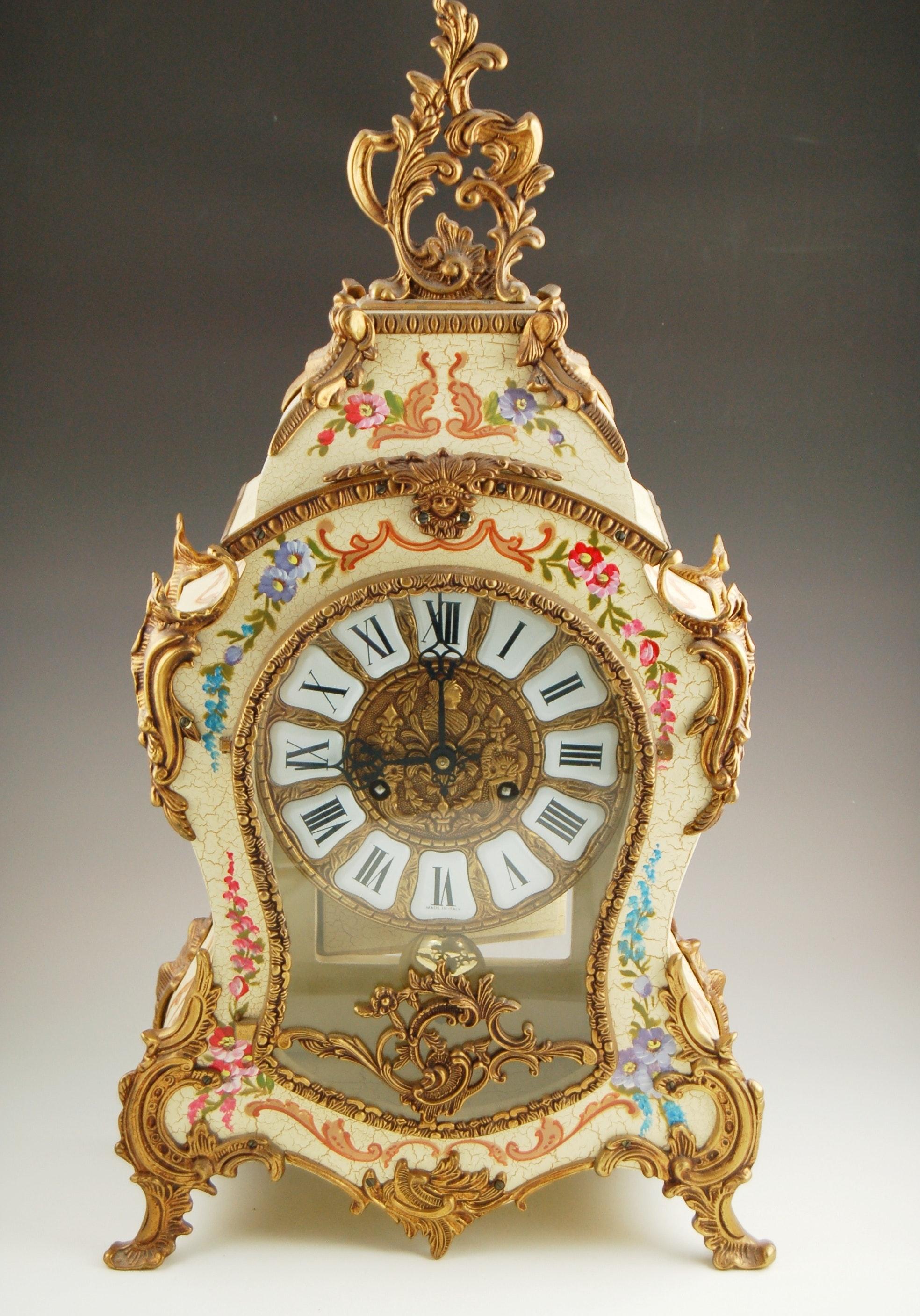 Italian Style Mantel Clock