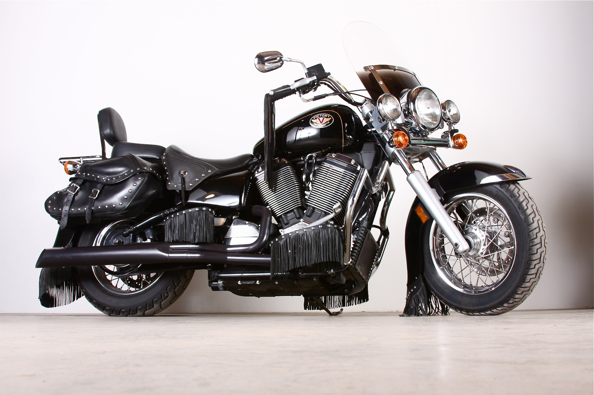 2001 Victory V92C Deluxe Motorcyle