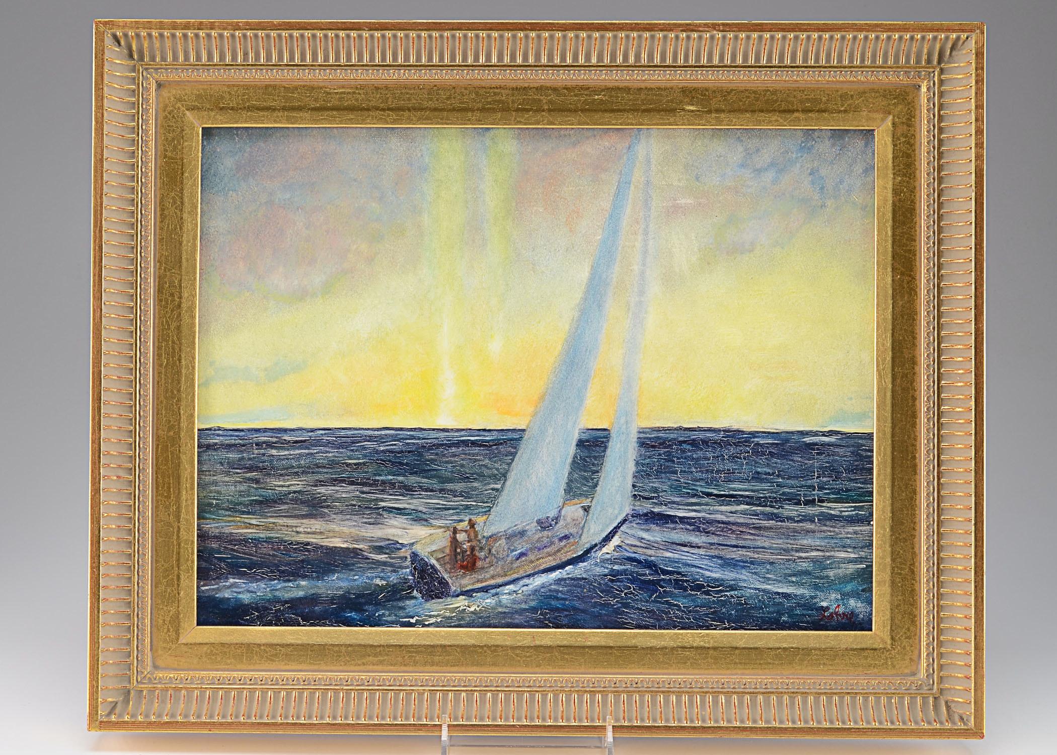 Tom Lohre Oil on Canvas, Landscape