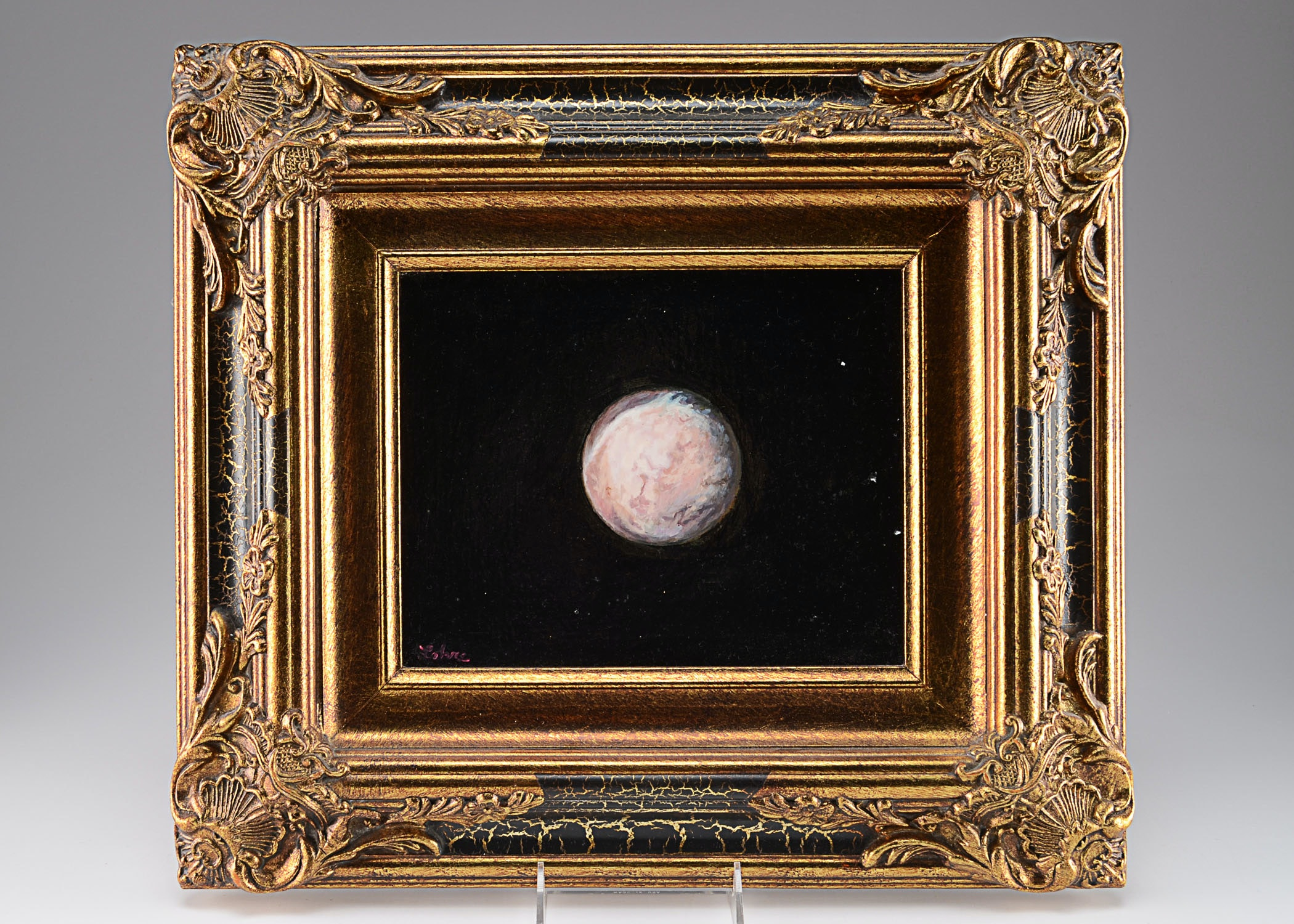 "Tom Lohre Oil on Canvas titled ""Triton"""