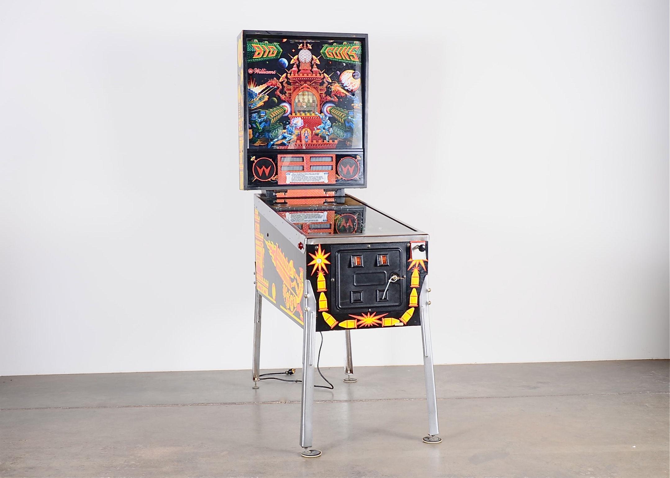 Big Guns Pinball Game by Williams